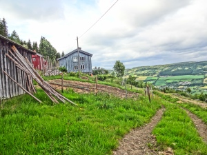 "Nordre means North in Norwegian, this being the northernmost farm in this particular area. Above this farm is the ""Seter"" or Mountain Farm where the streams spring originates and where presumably the elusive cloud berries grow - more on these later, need to find them first!"