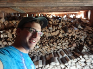 My attempt at a woodshed selfie.