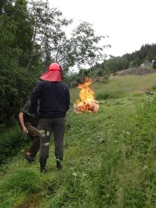 We got fire!