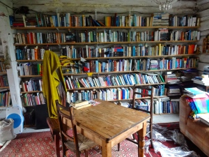 A treasure trove of books in Arabella's vast collection. All in English which is a plus and diverse selection.